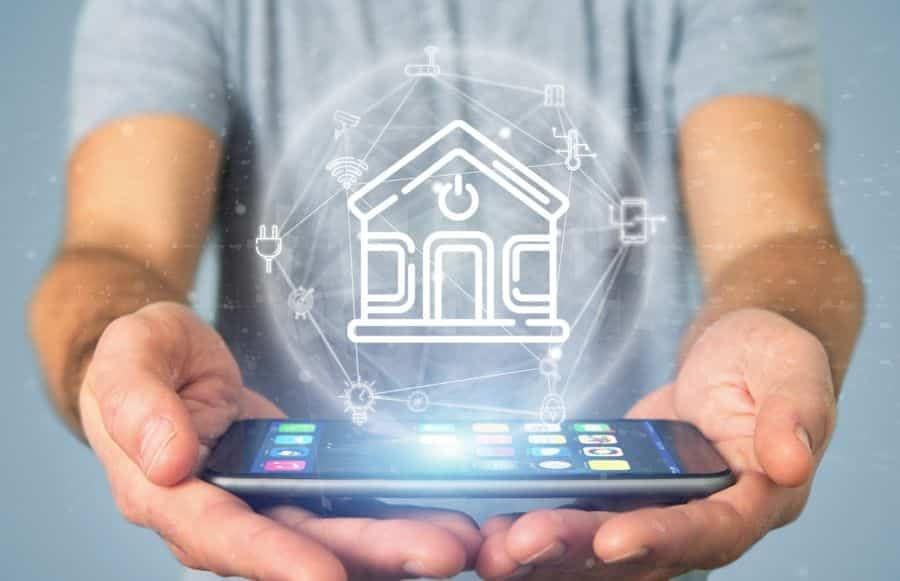 Übergabe des fertigen Smat Home Systems